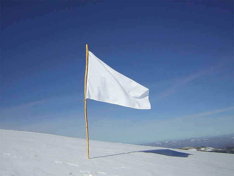 Let's All Wave the White Flag