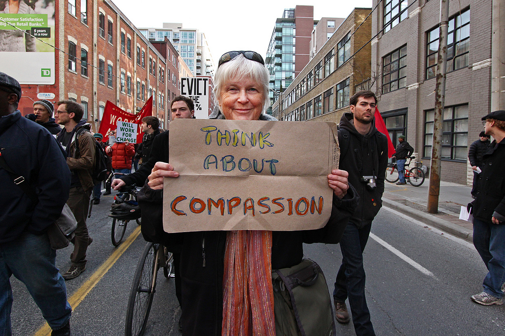Working to Increase Compassion in the World