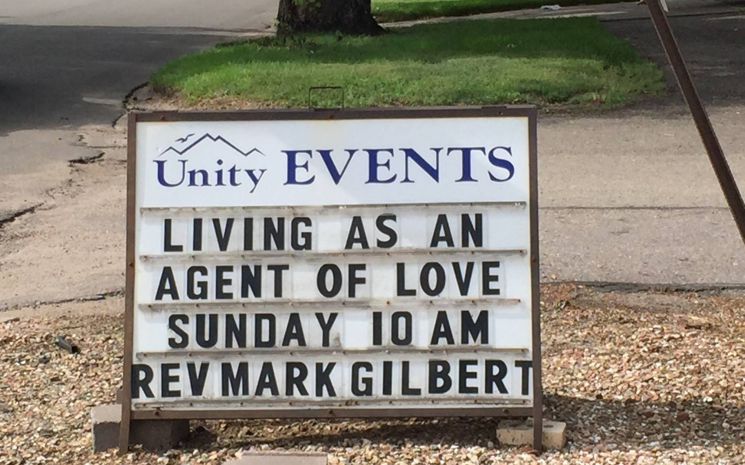Living as an Agent of Love