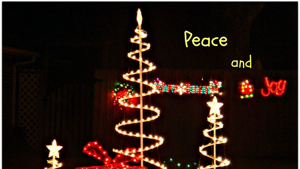 Peace on Earth? Peace Within