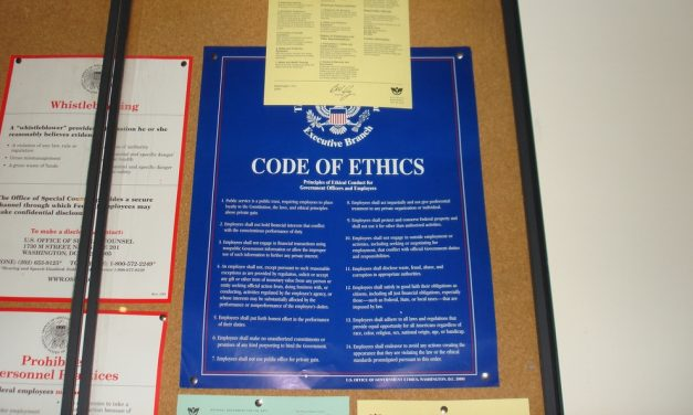 Why Our Ethics Are Important